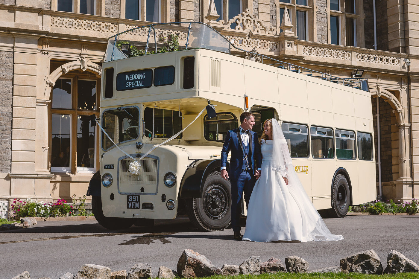 Crosville Vintage launch with superior wedding and event offering